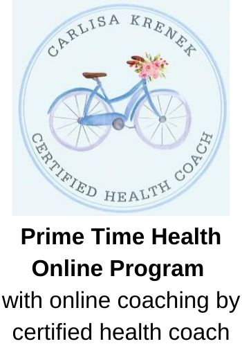 Prime Time Health Online Program with online coaching by certified health coach
